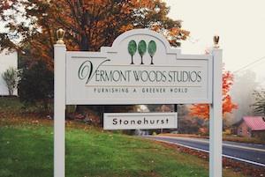 VTWoods sign