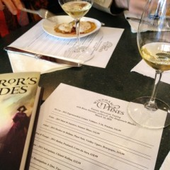 Book reading plus wine tasting: an educational combo