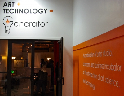 Generator invites users into a fun space for art, science, and technology.