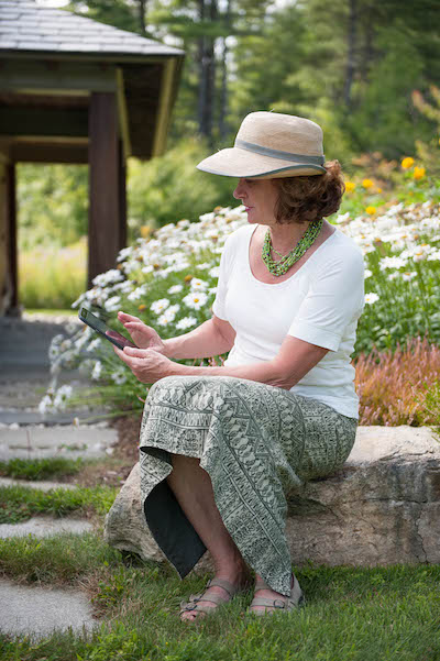 Garden writer Julie Moir Messervy
