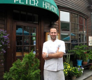 Zach Corbin, chef/owner at Peter Havens.