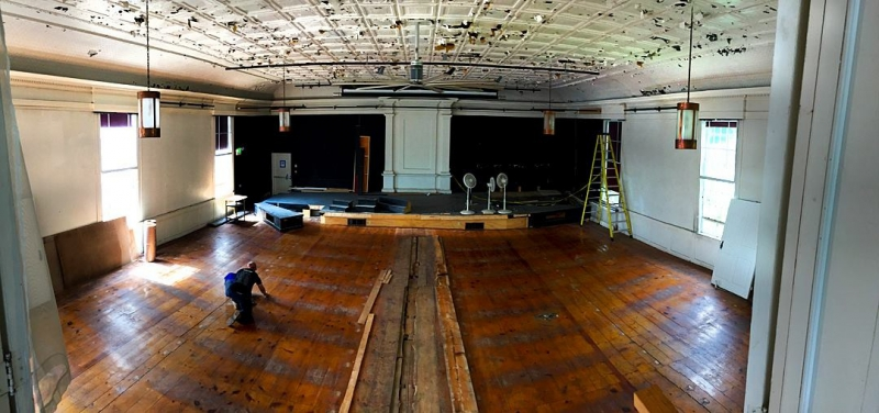 Renovations at Next Stage Arts — underway for months — have rebuilt, renovated, and retrofit the historic church space in Putney. The newly refurbished space reopens this winter.