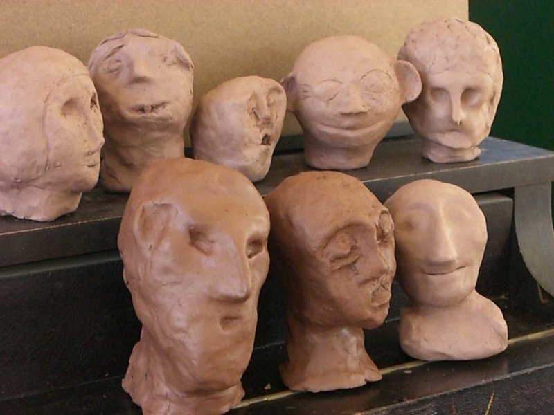 Exploring soul gestures (feelings) in clay