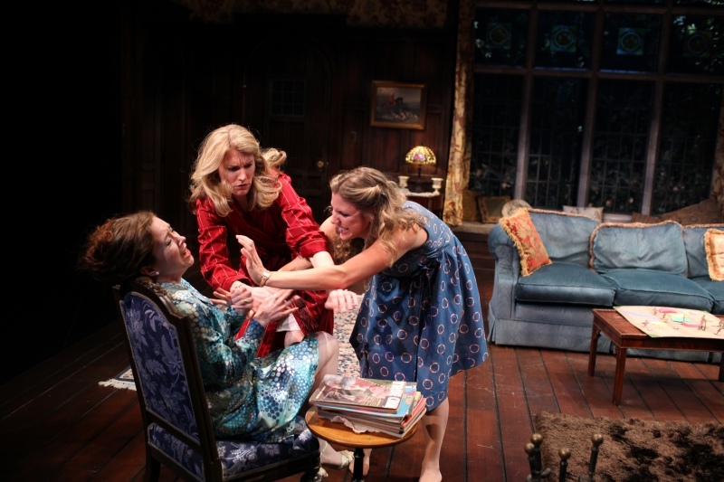 Northern Stage's Living Together, under the direction of Peter Hackett, the first in Sir Alan Ayckbourn's comic trilogy.